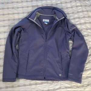 Womens Columbia fleece dry jacket Size M